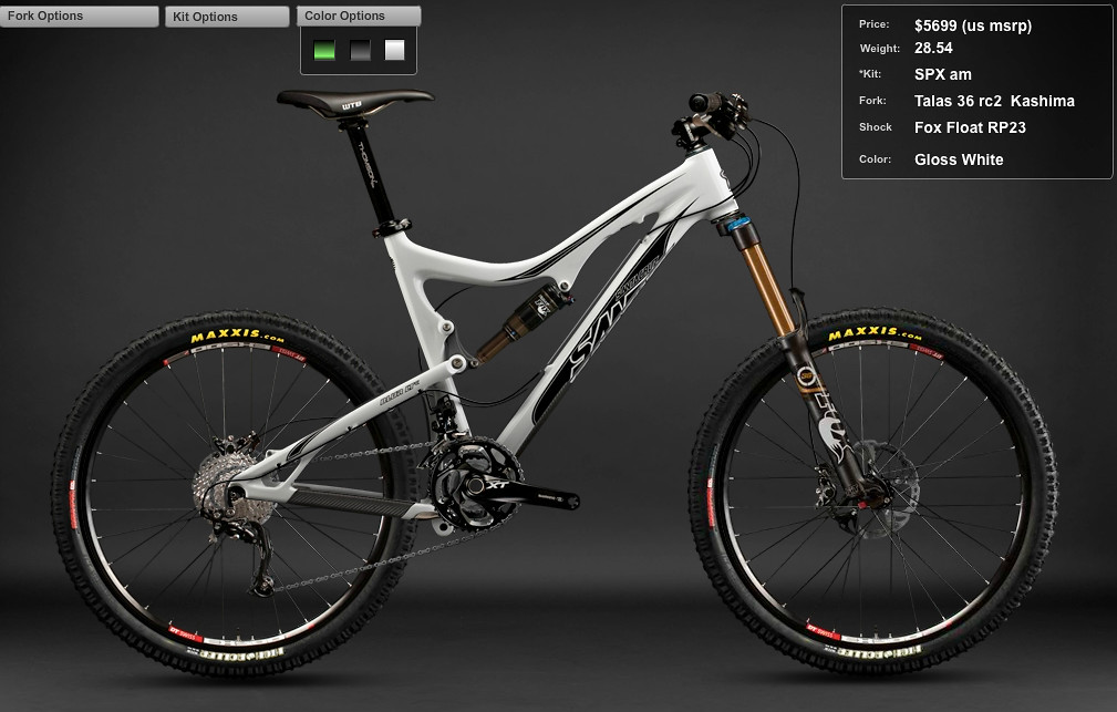 2012 Santa Cruz Blur LT Carbon SPX am Bike Screen shot 2011-12-06 at 10.59.21 PM
