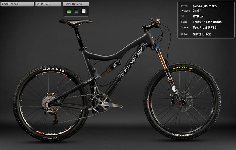 2012 Santa Cruz Blur LT Carbon XTR xc Bike Screen shot 2011-12-06 at 11.03.46 PM