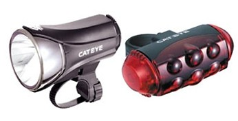 Cateye EL-530/TL-1100 Light Set  64522.jpg