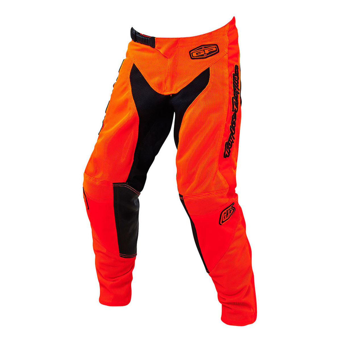 Troy Lee Designs Youth GP Air Pants  LTD GP Air Youth Moto Pant - Starburst Black:Orange