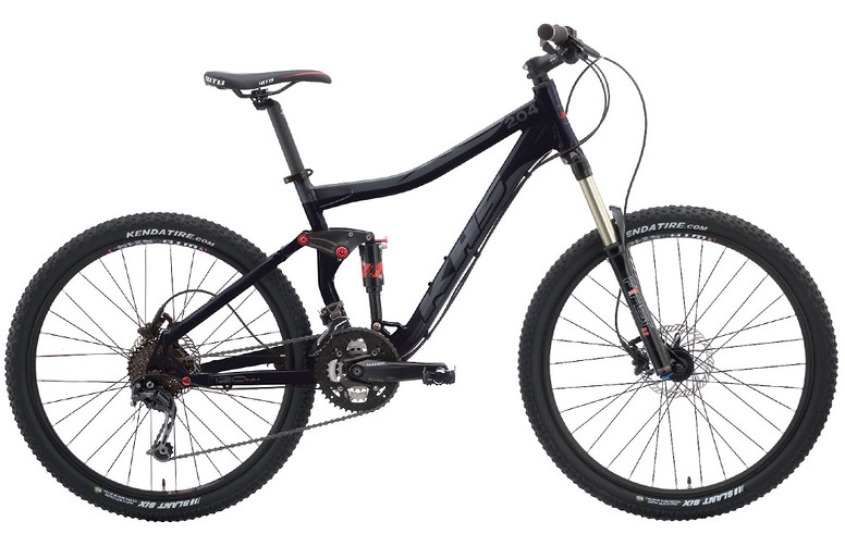 2013 KHS XC 204 Bike 2013 XC 204 - Black/Gray