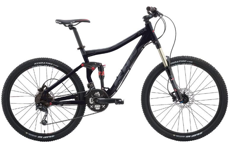 2013 KHS XC 204 Bike 2013 XC 204 - Black/Gray