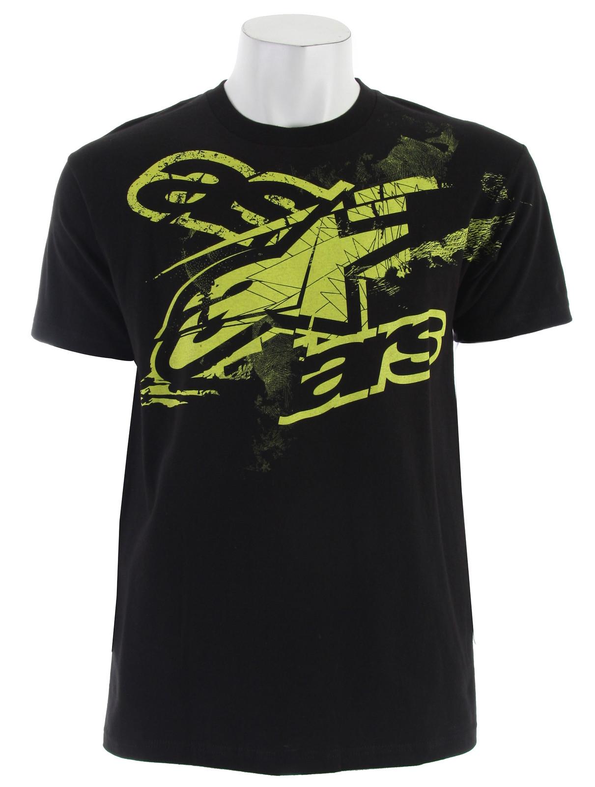 Alpinestars Vick T-Shirt Black  alpinestar-vick-t-blk-11.jpg