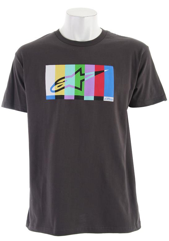 Alpinestars Colorbar T-Shirt Charcoal  alpinestar-colorbat-t-chrcl-11.jpg