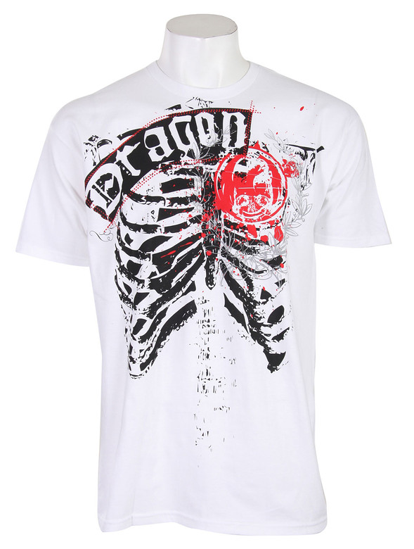 Dragon Haggard Heart T-Shirt White  dragon-haggardheart-t-wht-09.jpg
