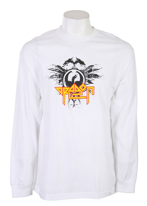 Dragon High N Dry L/S T-Shirt Shirt White  dragon-highndry-ls-wht-10.jpg