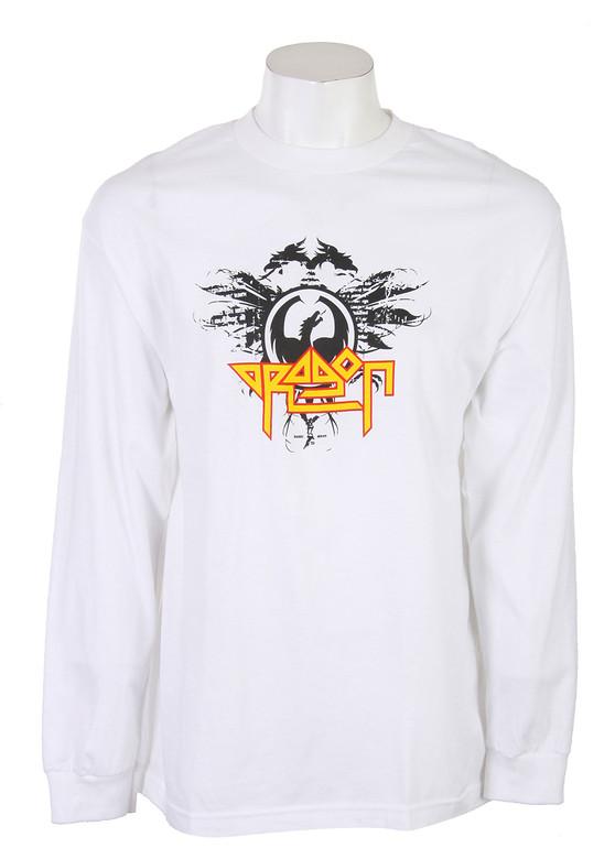Dragon High N Dry L/S T-Shirt Shirt White  dragon-highndry-ls-wht-10.jpg