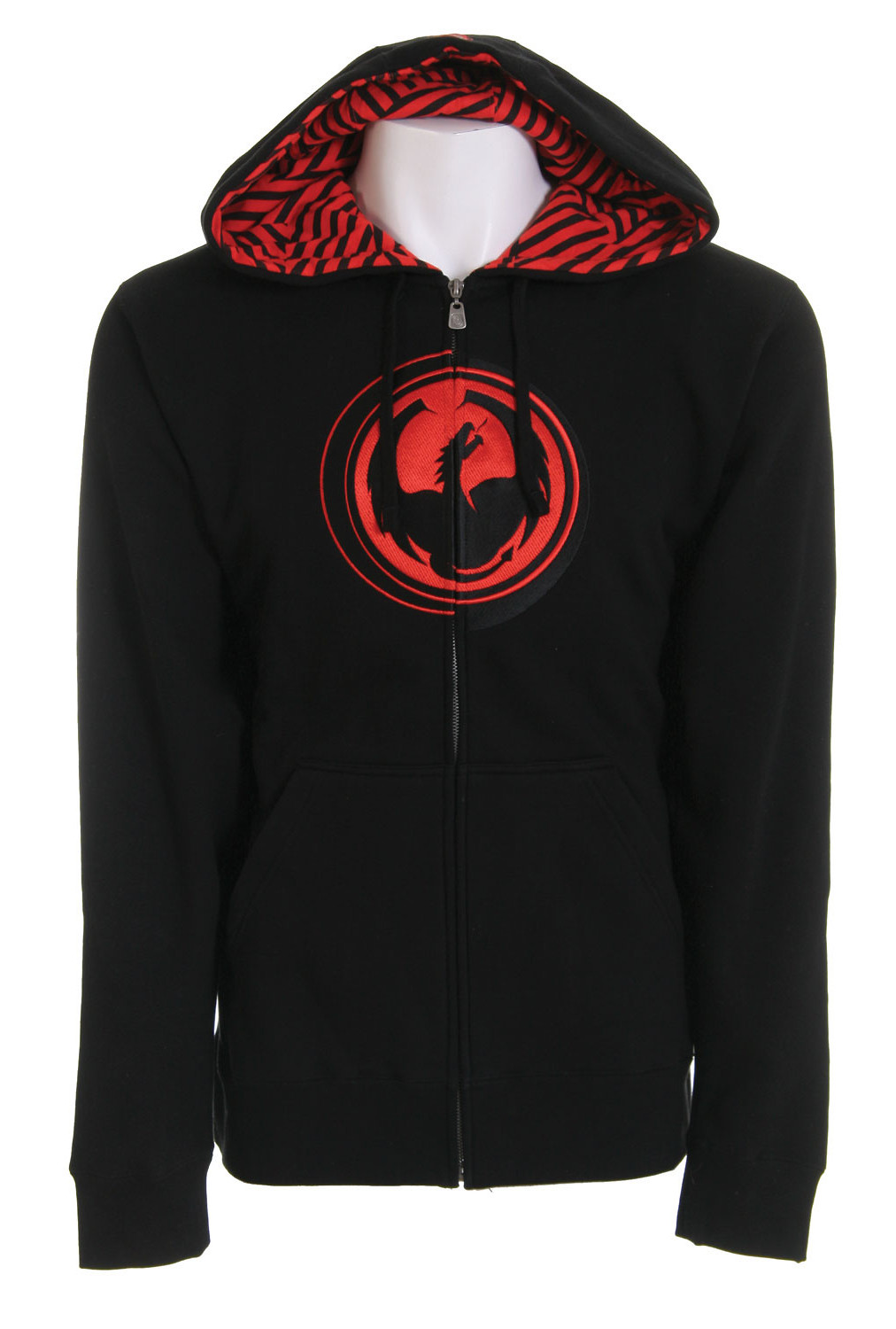 Dragon Stripped Zip Hoodie Black  drag-stripped-hd-blk-08.jpg