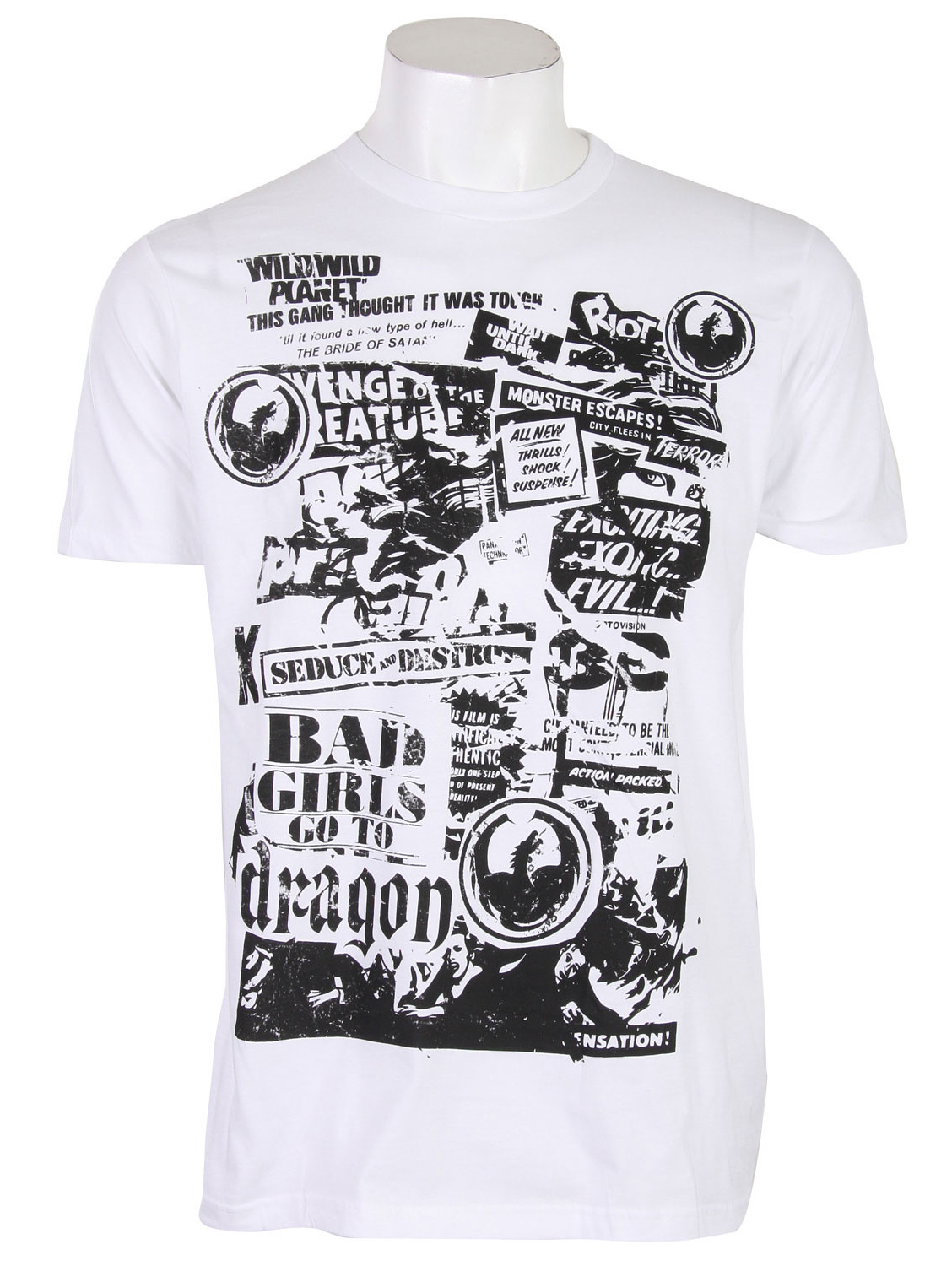 Dragon Shocker T-Shirt White  dragon-shocker-t-wht-09.jpg