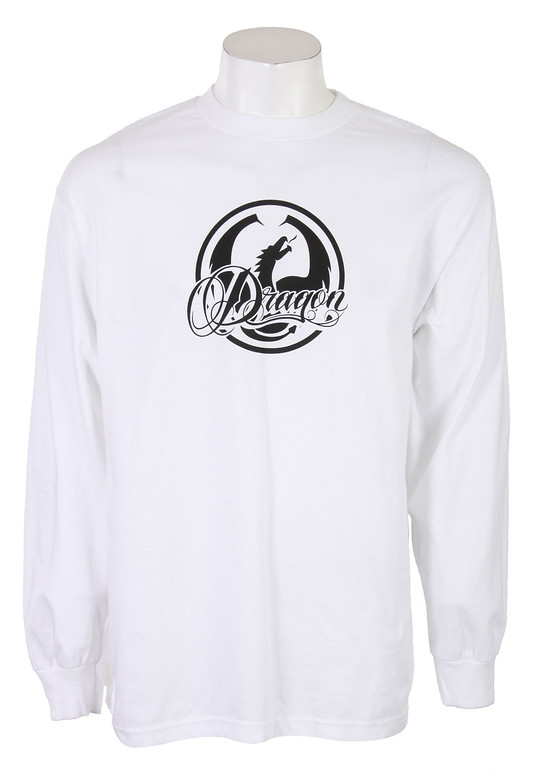 Dragon Double Up L/S T-Shirt Shirt White  dragon-doubleup-ls-wht-10.jpg