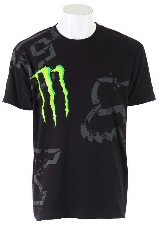 Fox Racing Fox Monster RC Replica Downfall T-Shirt Black  fox-monster-rc-replicadownfall-t-blk-10.jpg