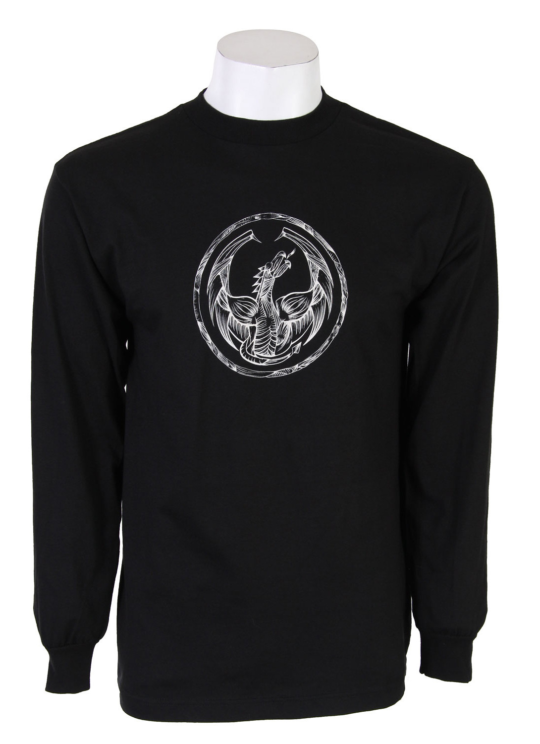 Dragon Tendons L/S T-Shirt Shirt Black  dragon-tendons-ls-blk-10.jpg
