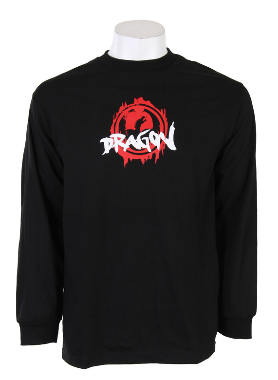 Dragon Marked L/S T-Shirt Shirt Black  dragon-marked-ls-blk-10.jpg