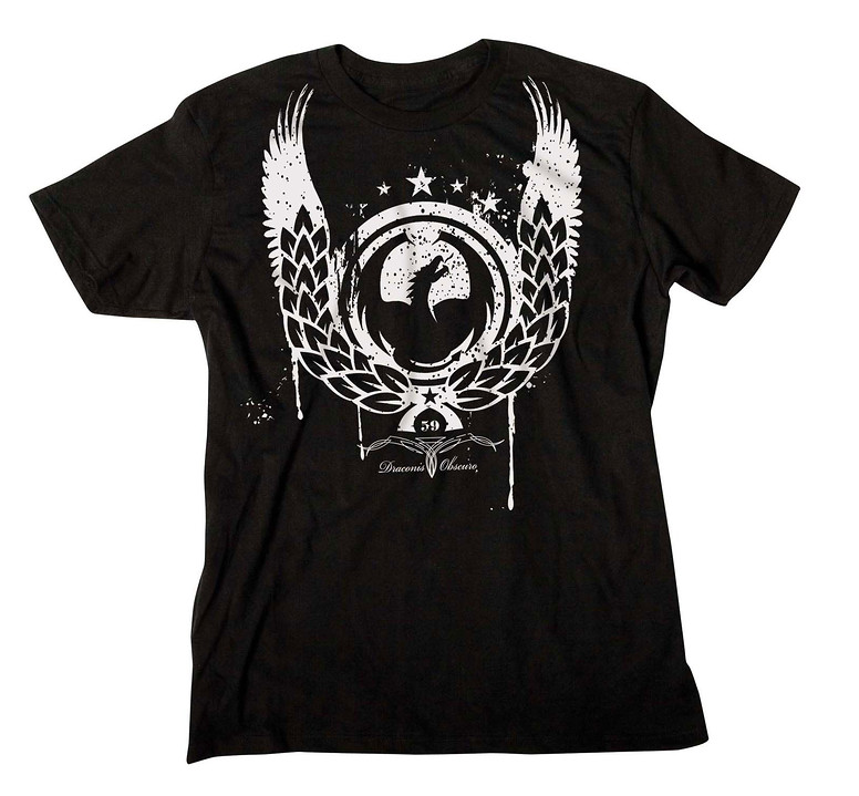 Dragon Warrant T-Shirt Black  dragon-warrant-t-yth-blk-08.jpg