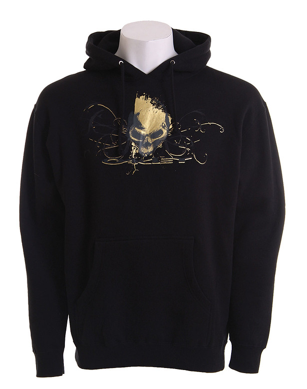 Oakley Center Skull Hoodie Black/Gold  oak-centrskull-hd-bkgld-08.jpg