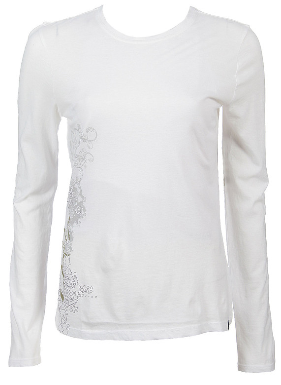 Oakley Trapped L/S Shirt White  oak-trapped-ls-wt-w-07.jpg