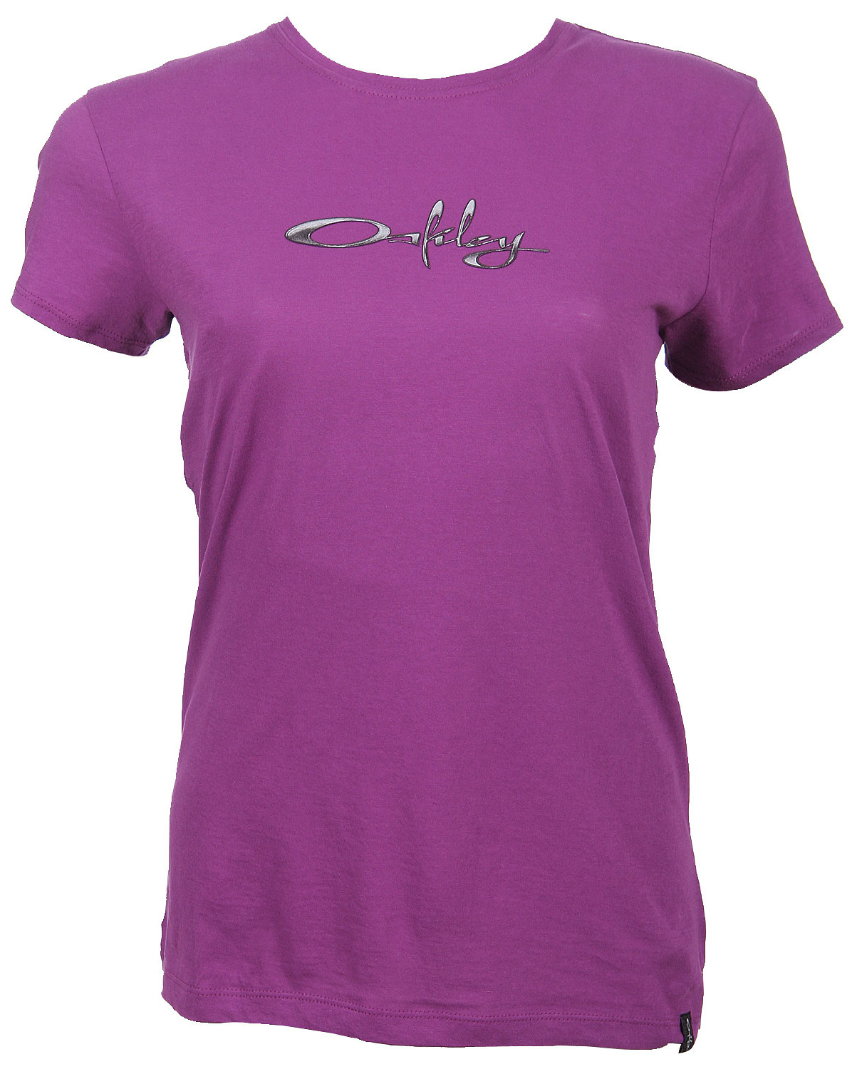 Oakley Chrome Logo T-Shirt Sparkling Grape  oak-chrmlgo-spkgp-w-07.jpg