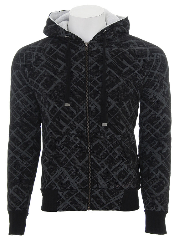 Oakley Geo Plaid Sherpa Hoodie Black  oak-geo-plaid-sherpa-hd-bk-09.jpg
