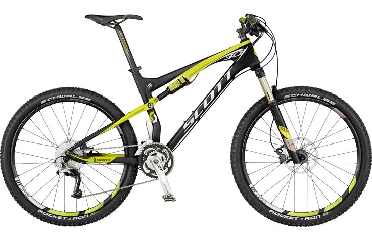 2012 Scott Spark 30 Bike Reviews Comparisons Specs Mountain