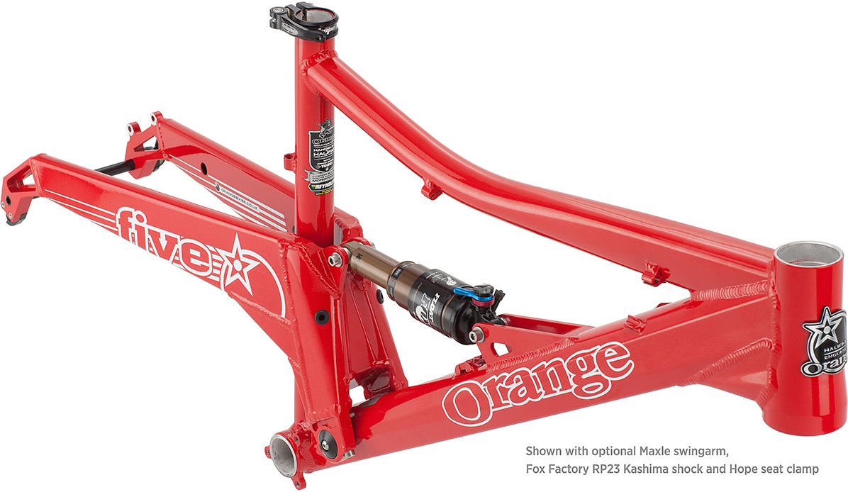 Orange Five - 2011 Frame Five-Frm-Ksh-17-002291