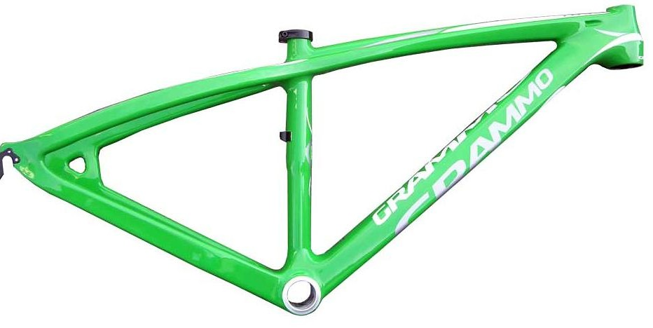 Grammo Toa Carbon Frame Toa_green_side