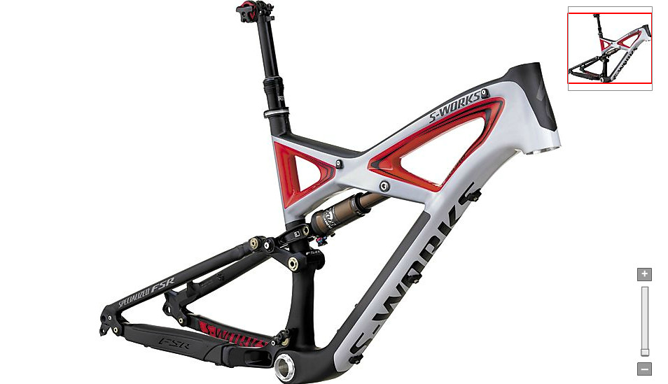 Specialized S-Works Enduro Carbon Frame Frame Screen shot 2011-12-26 at 12.34.32 PM