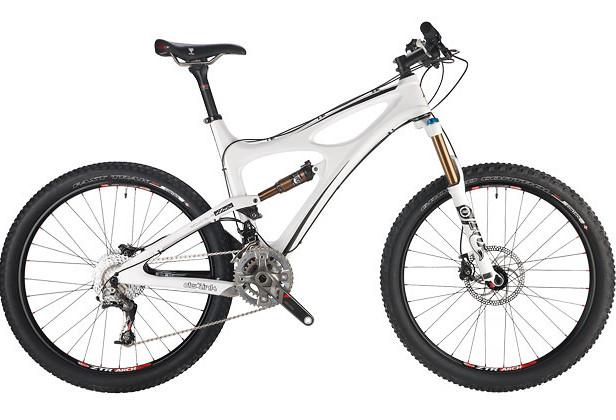 2012 Ibis Mojo SL-R XT Bike Ibis Mojo SLR Frame White