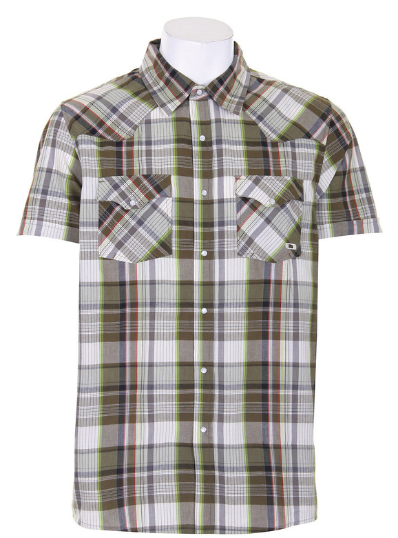 Oakley Revolver Woven Shirt New Olive  oakley-revolver-buttont-newolive-09.jpg