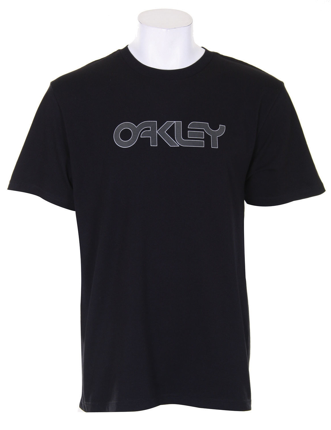 Oakley Retro Metallic T-Shirt Black  oakley-retrometalic-t-blk-09.jpg