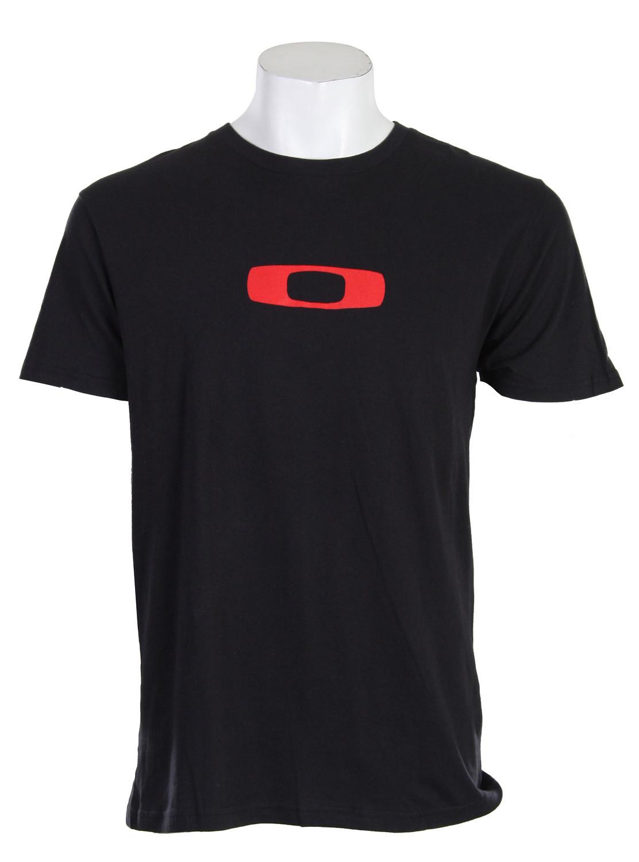 Oakley Triumph S/S T-Shirt Black/Red  oakley-triumph-t-blk-10.jpg