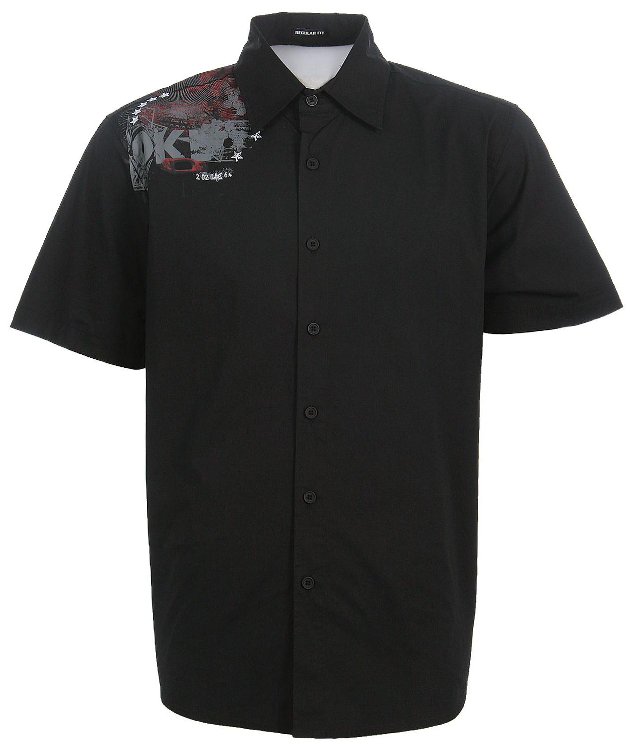 Oakley Bon Voyage Woven Shirt Black  oak-bonvoyage-bk-08.jpg