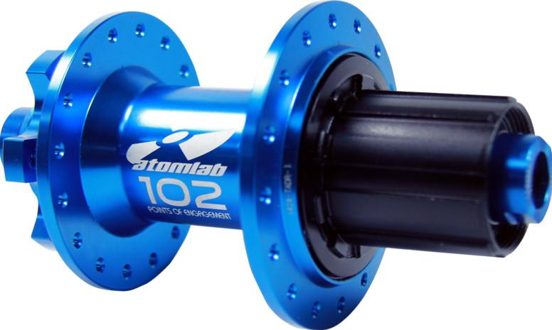 Atomlab Pimplite 135/142mm Hub  blue