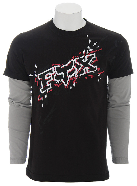 Fox Racing Fox Matrix 2Fer T-Shirt Black  fox-matrix-2fer-t-bk-08.jpg