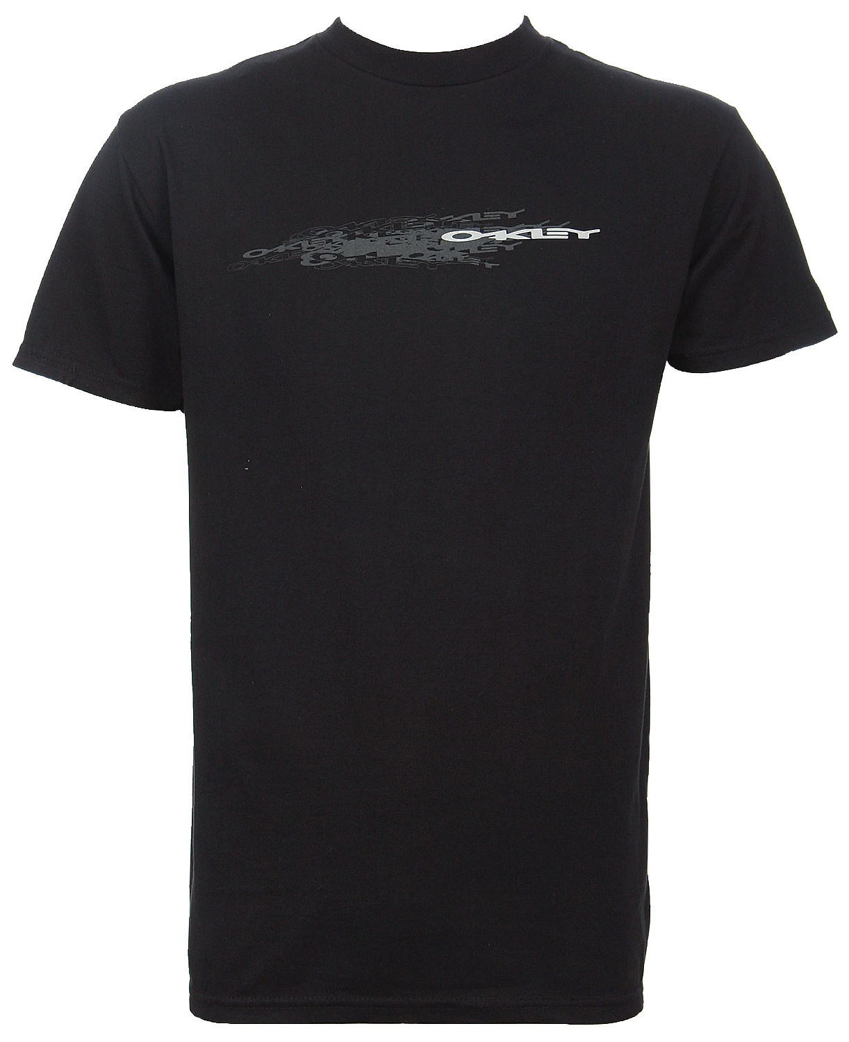Oakley Repeated Transaction T-Shirt Black  oak-repeated-bk-07.jpg