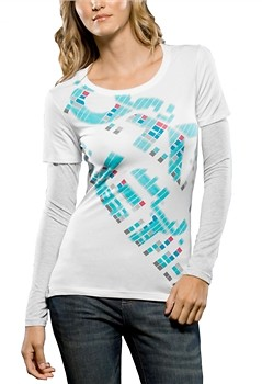 Oakley A Train Womens Long Sleeved Tee  56945.jpg