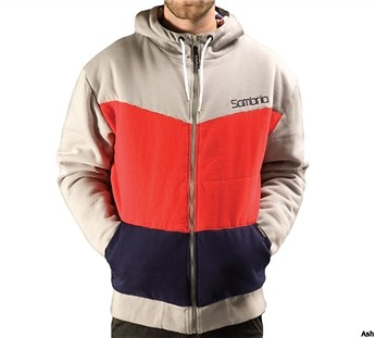 Sombrio Flock Quilted Fleece Zip Up Hoody 2011  62696.jpg
