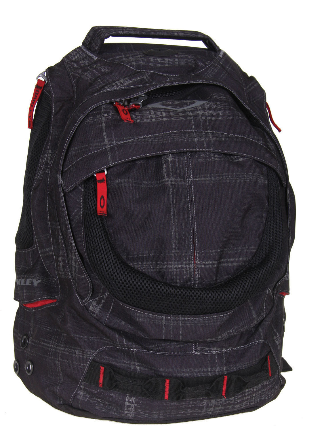 Oakley Fifty 2.0 Backpack Black  oakley-fifty20-plaid-pack-blkprint-09.jpg
