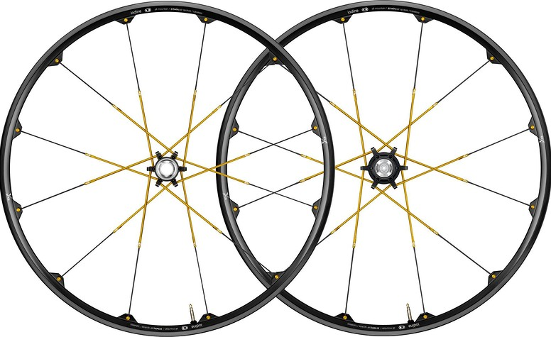 Crank Brothers Iodine 3 Wheelset  Crank Brothers Iodine 3 Wheelset Black:Gold