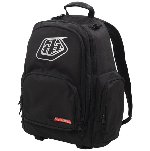 Troy Lee Designs Basic Backpack  12TLD_BASIC_BACKPACK_BLACK