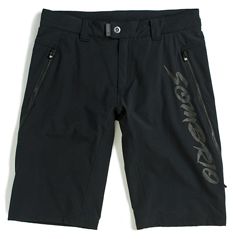 Sombrio N'Fluence Shorts SS13_NFLUENCE_SHORTS_BLACKTASTIC_FRONT_MAIN_grande