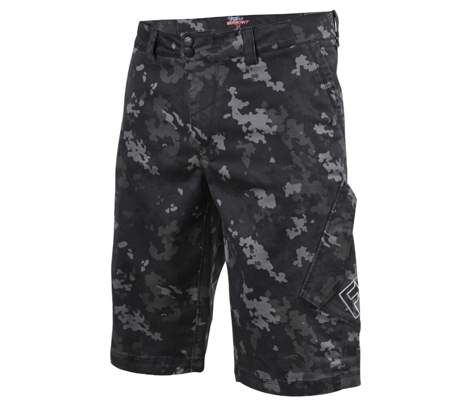 Fox Racing Sergeant  Riding Shorts Fox Racing Sergeant Riding Shorts - Camo