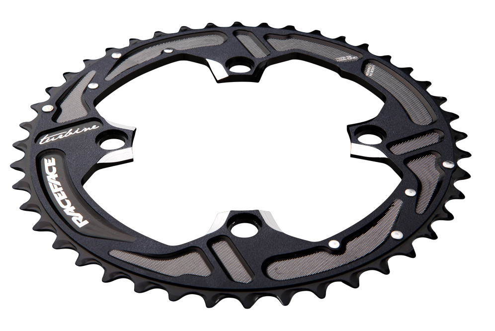 Race Face Turbine 11 Speed  Chainrings 2010_CHR_TRB_BLK_WHT