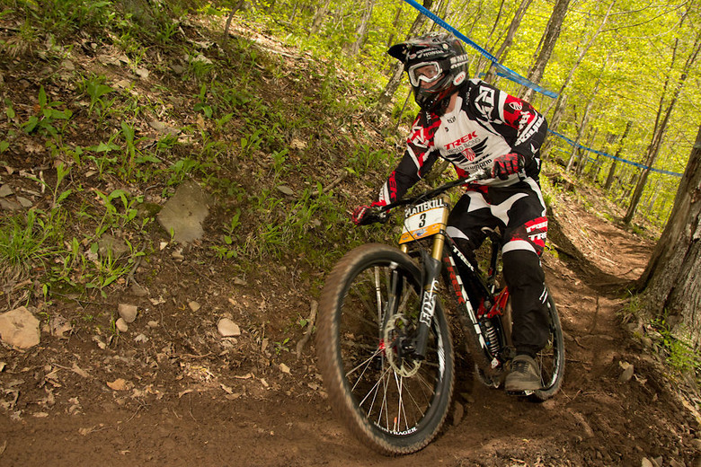 Gwin with the win! - <i>Photo: Mike Lord</I>