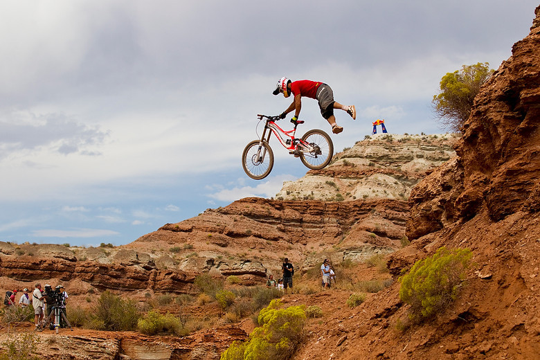 Darren at Red Bull Rampage 2010 - Photo by Sven Martin
