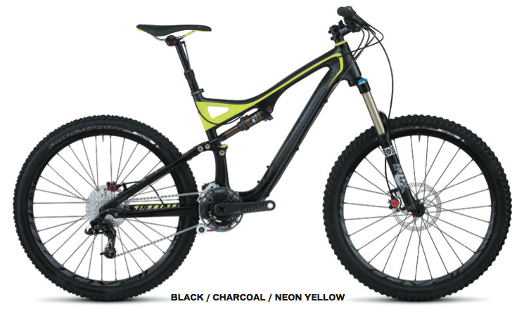 The 2012 Specialized Stumpjumper FSR Expert Carbon EVO trail bike. A beauty!