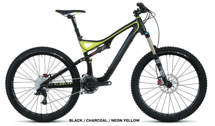 The 2012 Specialized Stumpjumper FSR Expert Carbon EVO trail bike. A beauty!