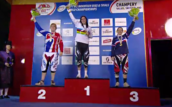 Elite Women's Podium