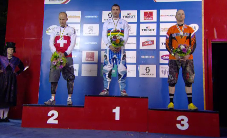 Elite Men's Podium