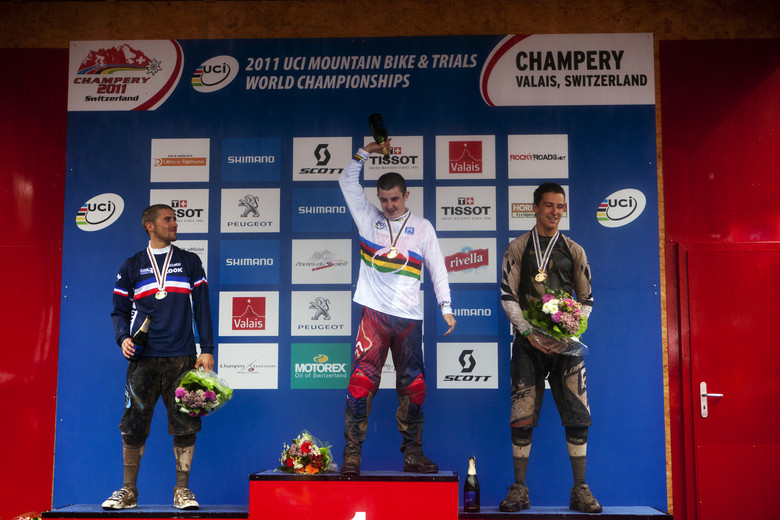 Top of the World Champs podium...where does one go from there?