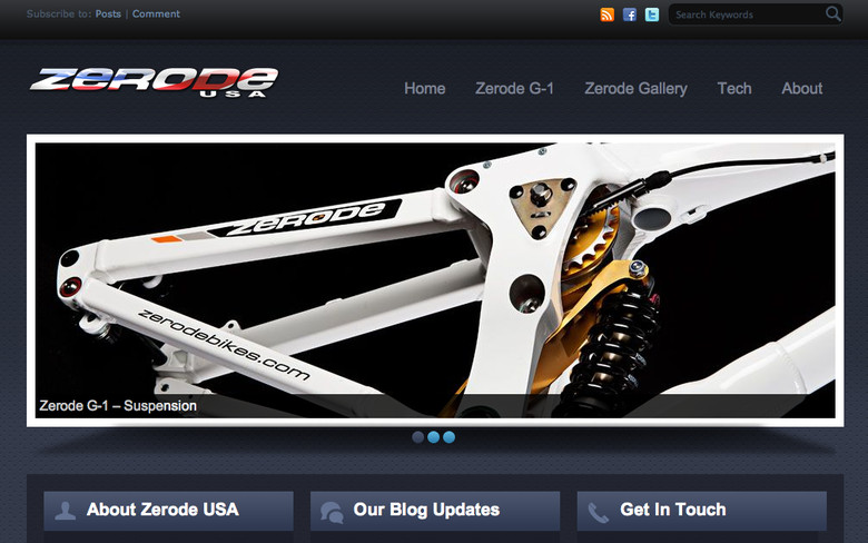Zerode Bikes Available in the United States